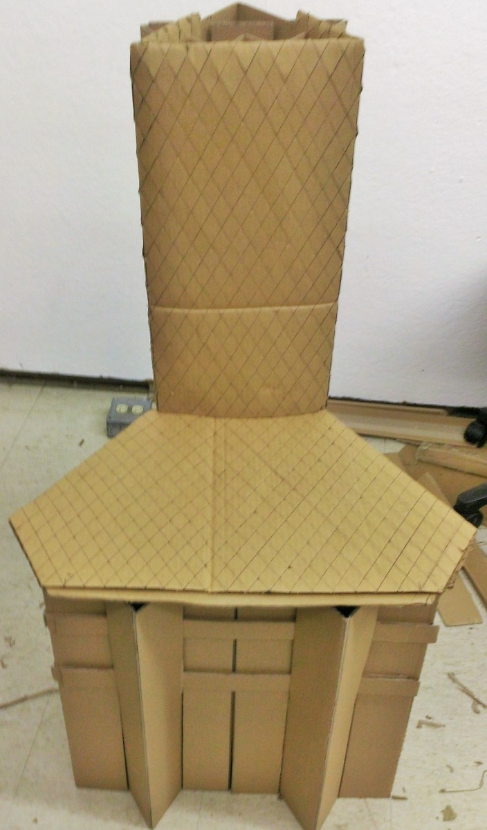 Cardboard Chair Cello Expressions
