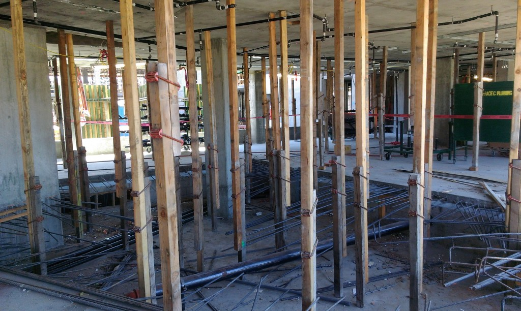 Shoring And Reshoring : Usc village construction week of july  cello