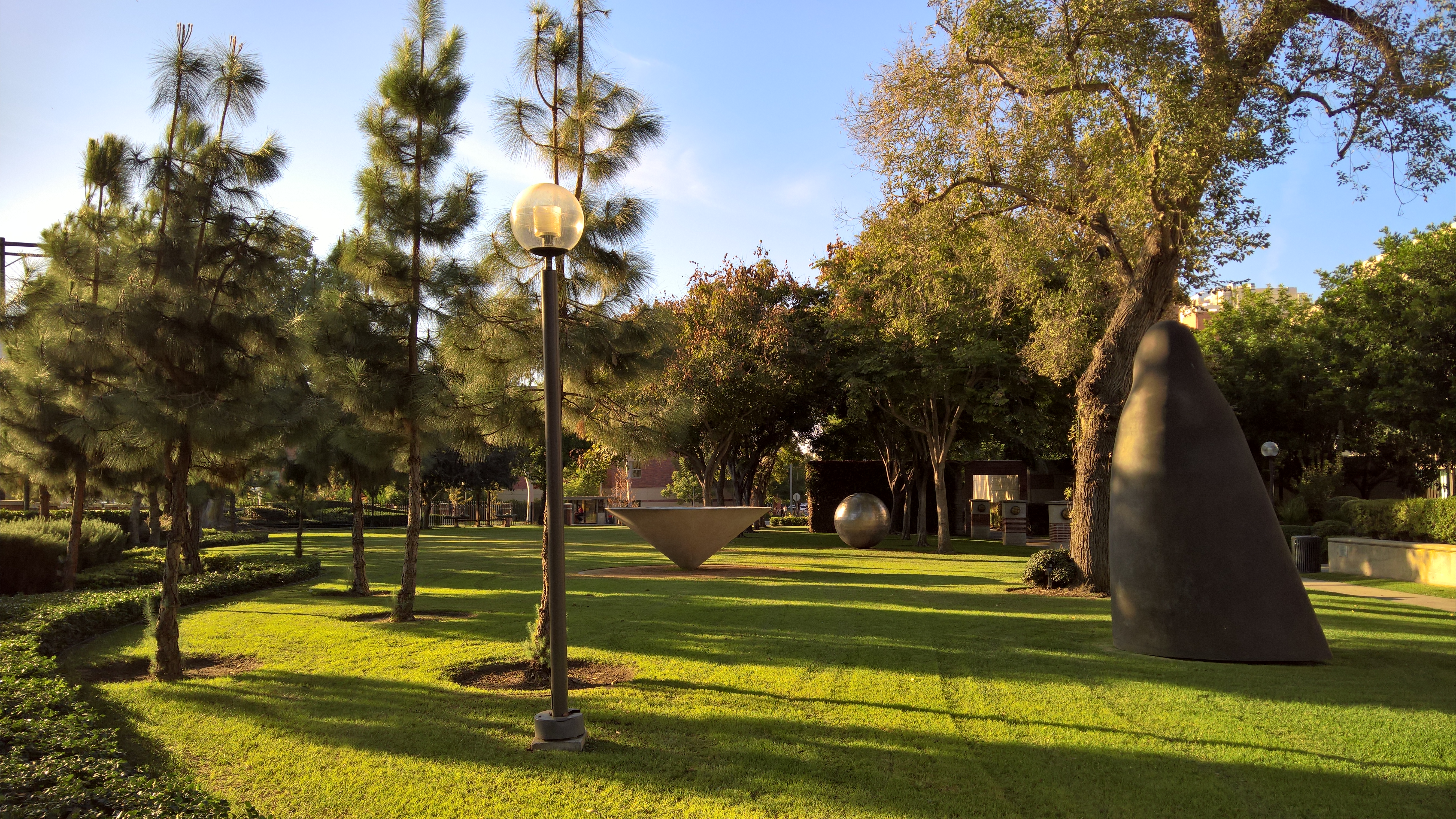 University of Southern California University Park Campus Fall